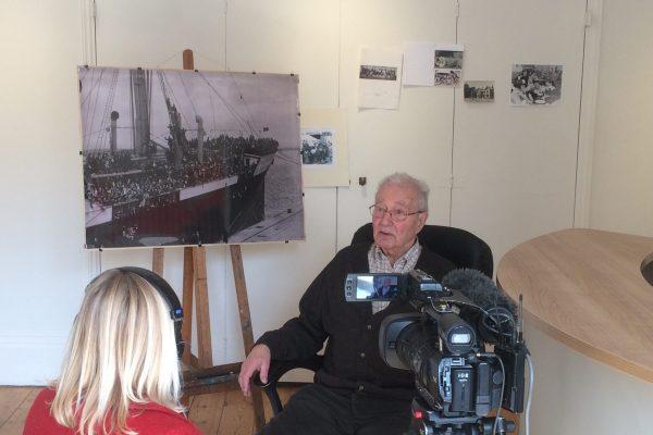 BBC - filming of Herminio
