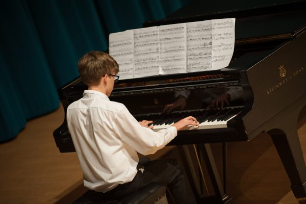 Performance from one of the school pupils at the final event